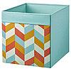 Коробка ДРЁНА разноцветный, 33x38x33 см ИКЕА, IKEA