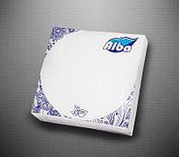 Салфетки сервировочные 33×33, 50 листов, 2 слоя, белые