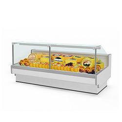Холодильная витрина Aurora Slim SQ Plug-In Закрытый угол 90 вентилируемая