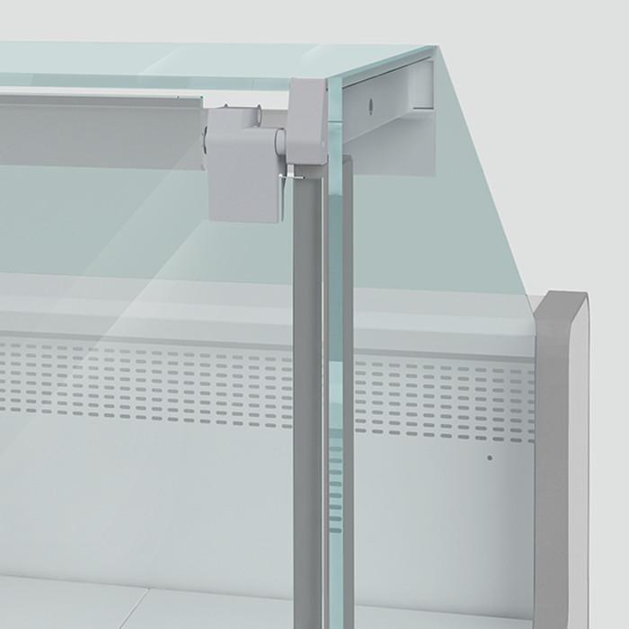 Холодильная витрина Aurora Slim SQ Plug-In 375 рыба на льду