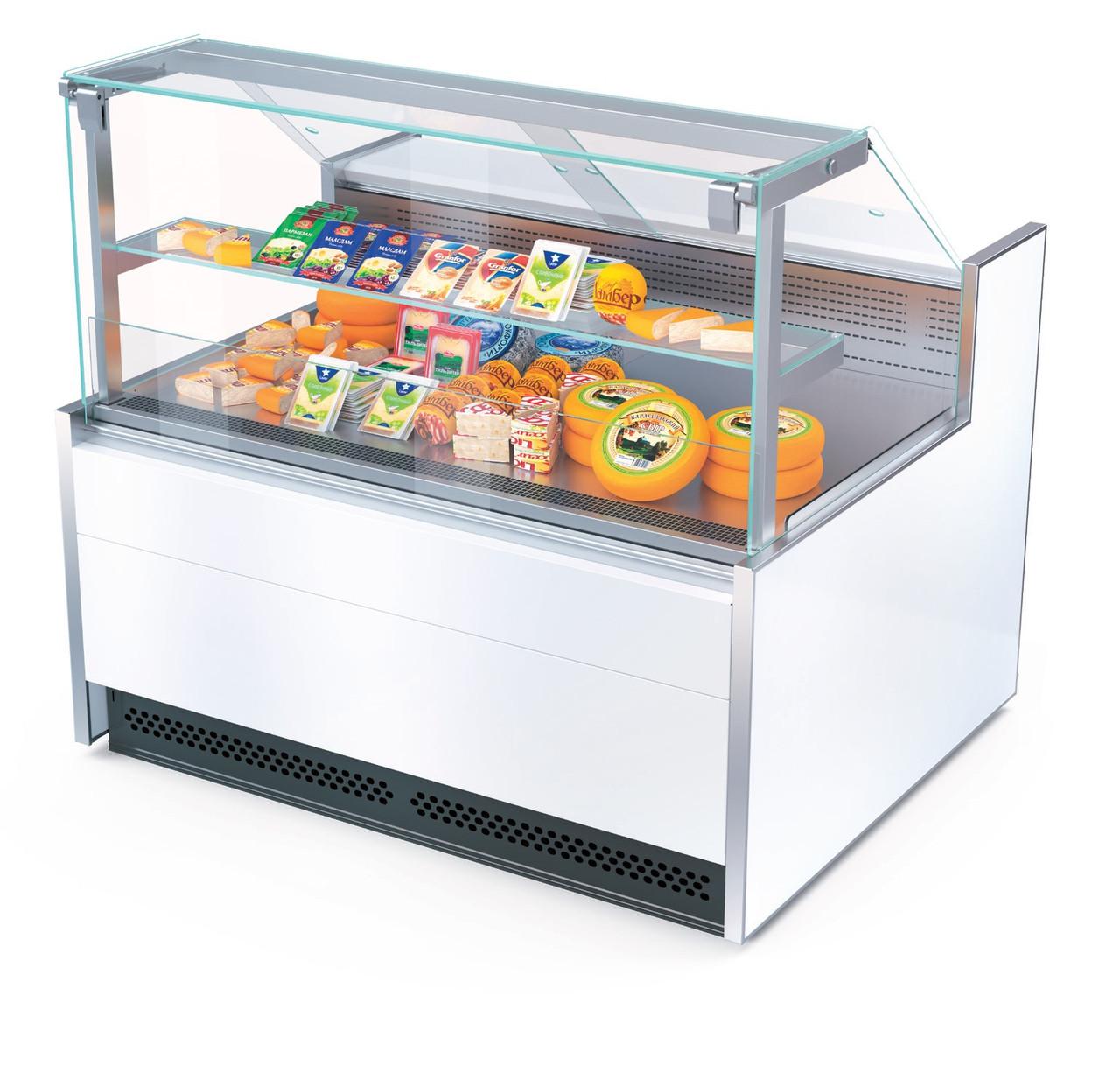 Холодильная витрина Aurora Slim SQ Plug-In 125 кондитерская