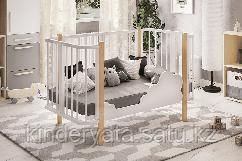 Кроватка детская «Оливия» Можгинский лесокомбинат белая
