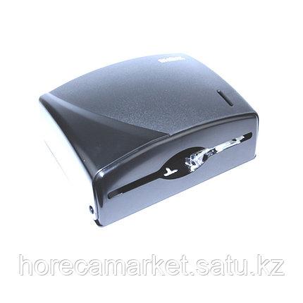 Диспенсер бумажных полотенец Z-укладки черный, фото 2