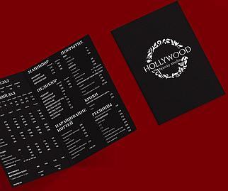 Распечатка меню
