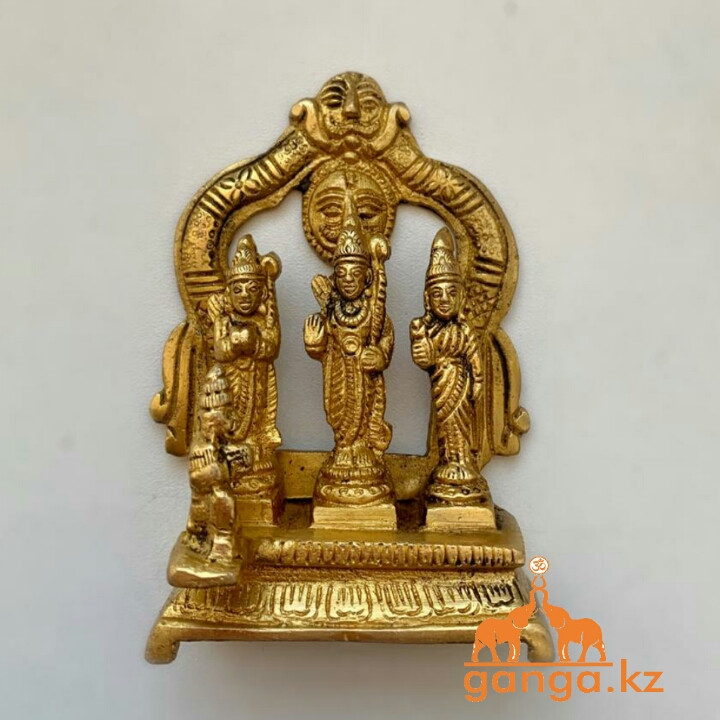 Статуэтка Рама-Сита-Лакшмана-Хануман, 10 см