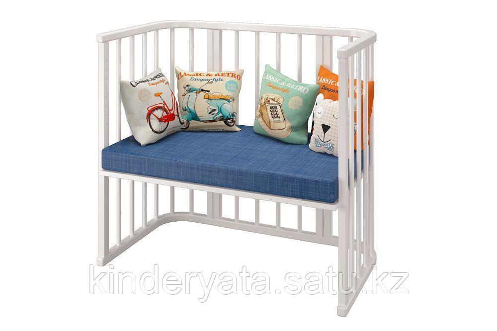 Детская кроватка Можгинский лесокомбинат Приставная Эстель