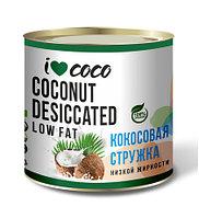 Стружка кокосовая низкой жирности I❤COCO 100 гр