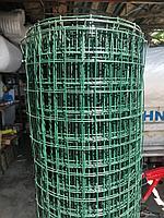 Сетка металлическая с полимерным покрытием (голландская) 50х50, Ø 2,0 мм 1,8х30 м (разукомплект)