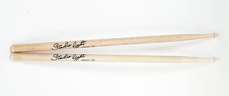 Барабанные палочки, деревянный наконечник, Leonty SL5BW Studio Light 5B