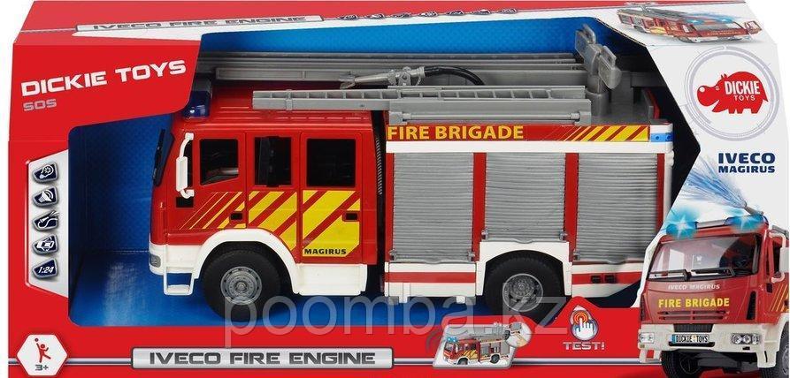 Пожарная машинка  30см свет звук водяной насос Dickie Toys