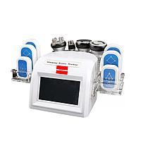 Аппарат White 6в1: кавитация, РФ, лазерный липолиз и вакуумный массаж, в новом дизайне