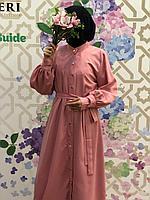 Платье на клёпках HAJAR