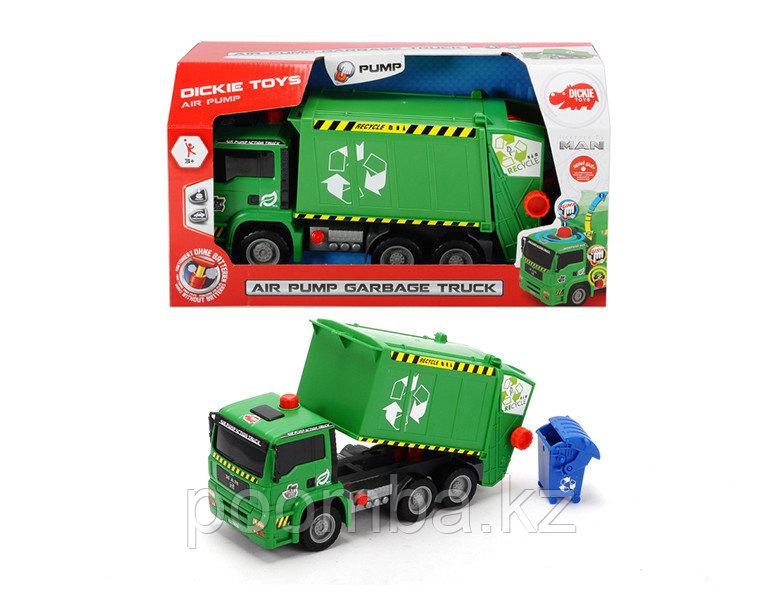 Машинка мусоровоз с контейнером AirPump 31 см Dickie Toys