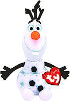 """Мягкая игрушка со звуком Олаф снеговик """"Холодное Сердце 2"""" 15 см"""