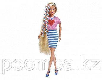 Кукла Штеффи с аксессуарами для волос 29 см Simba