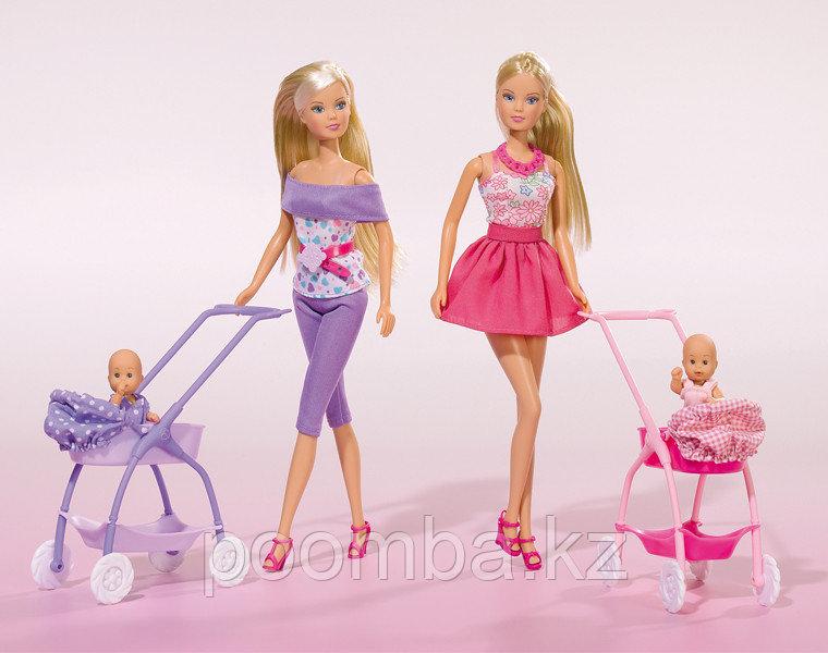 Кукла Штеффи с ребёнком 2 вида 29 см Simba