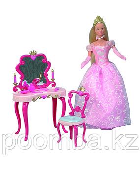 Кукла Штеффи принцесса и столик 29 см Simba