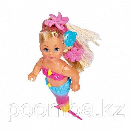 Кукла Еви 12 см Русалочка с крутящимся хвостом Simba