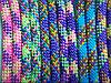 Скакалка гимнастическая утяжеленная разноцветная 2,5 м