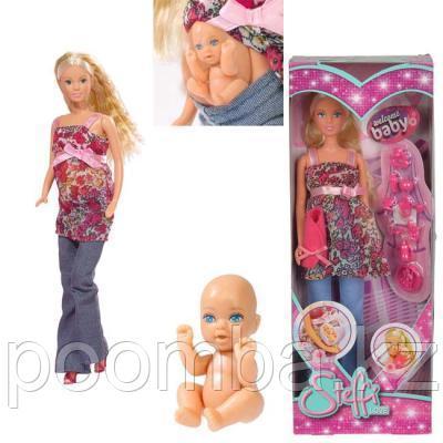 Кукла Штеффи беременная  29 см Simba