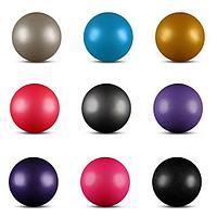 Мяч для художественной гимнастки с блестками 18 см Indigo, фото 1