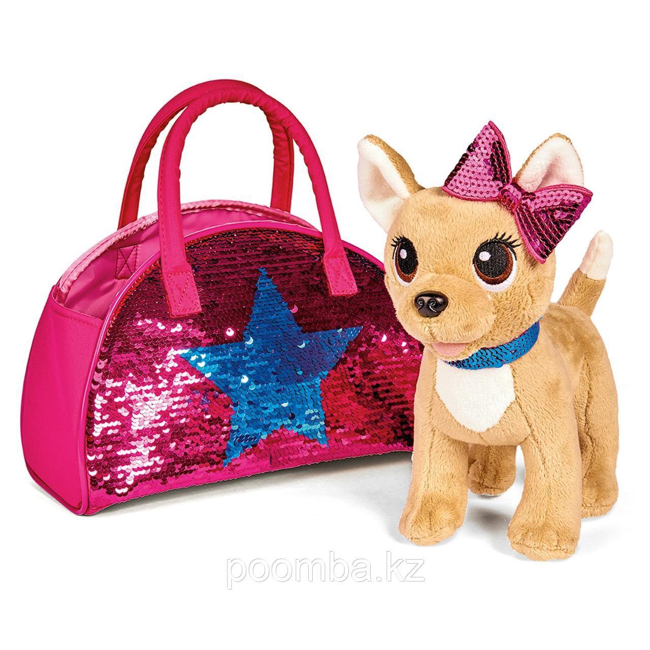 Плюшевая собачка 20 см Chi Chi Love Блестящая мода Simba