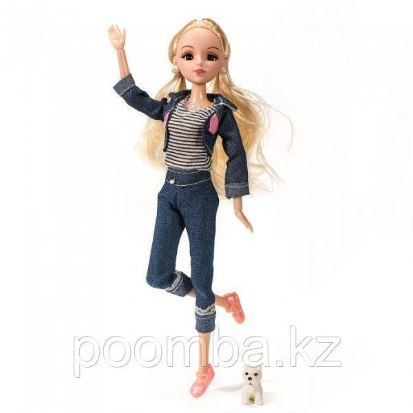 Кукла Эмили 29 см шарнирная на прогулке Funky toys
