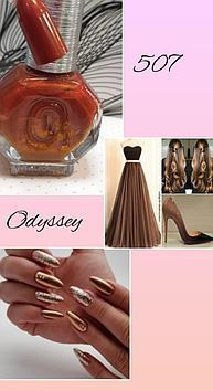 Лак для ногтей Odyssey Nails Systems #507