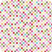 """Ткани для пэчворка,серия """"Цветные квадраты"""""""