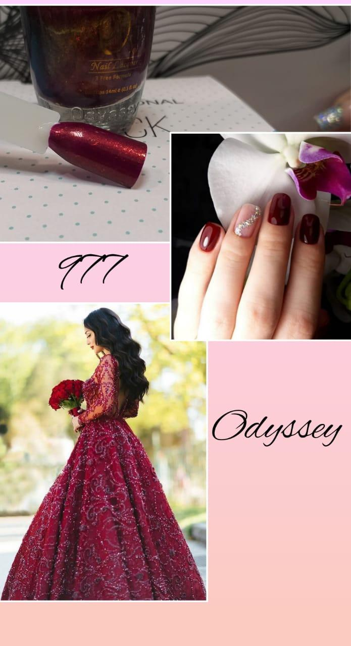 Лак для ногтей Odyssey Nails Systems #977