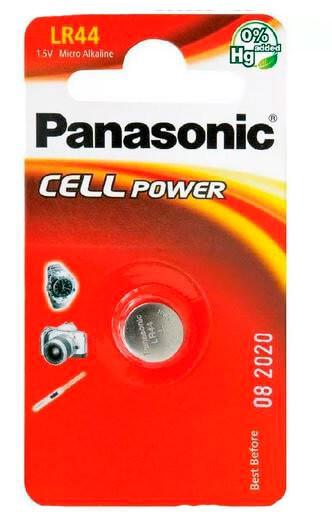 Батарейки Panasonic LR44EL/1B
