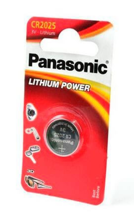 Батарейки Panasonic Power Cells CR2025 B1