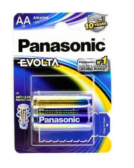 Батарейки Panasonic LR6 EVOLTA BL2