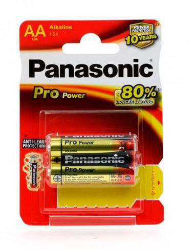 Батарейки Panasonic LR6 PRO Power BL2