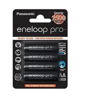 Аккумулятор Panasonic eneloop pro BK-3HCDE/4BE 2500mAh R06 AA BL4