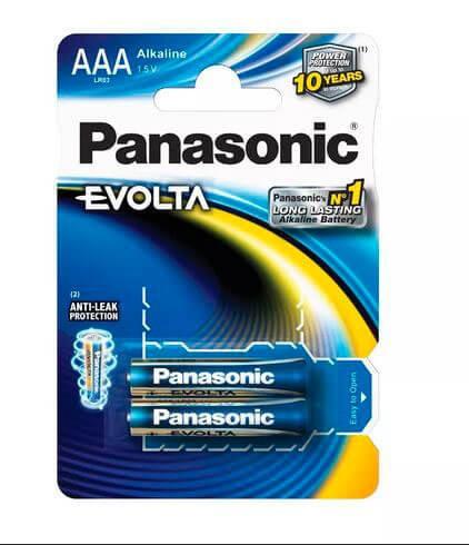 Батарейки Panasonic LR03 EVOLTA BL2