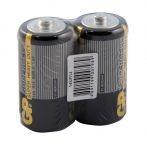 Батарейки GP Supercell С (R14/14S-0S2) комплект - 2 штуки, пленка 12/240