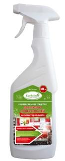 Универсальное средство Eco&clean WP-068 для уборки и антибактериальной обработки любых поверхностей