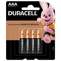 Батарейка DURACELL Basic ААА 4шт LR03 (мизинчиковые) -надежный источник питания для часто используем