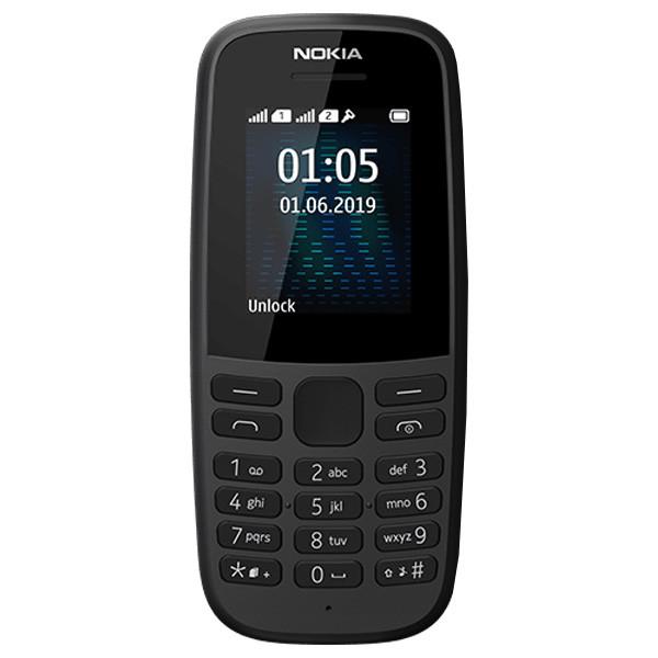 Мобильный телефон Nokia 105 TA-1174 DS (Black)