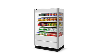 Холодильная витрина Zodiac Г 190