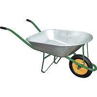 Тачка садовая грузоподъемность 160 кг, объем 78 литров