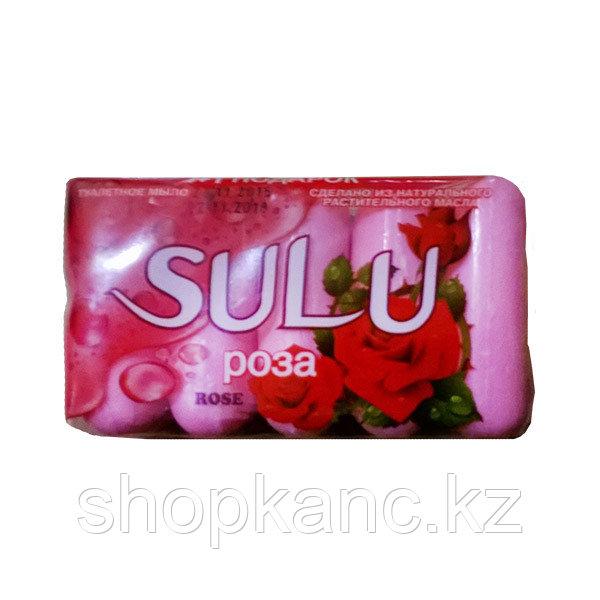 Мыло туалетное, Sulu, Роза 5*70 гр.