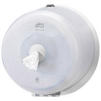 Диспенсер для туалетной бумаги в рулонах Smart One, Tork, белый, Т9.