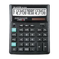 Калькулятор настольный 16 разрядов, SK-526II, 158*203*31 мм, чёрный.