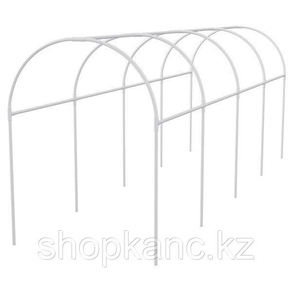 Каркас парника пластиковый 500 х 110 х 120 см, дуга d20мм, белый