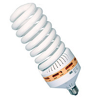 Лампа энергосберегающая, Spiral, 25W, E27