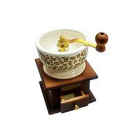 Ручная Кофемолка с регулятором помола, приемное отделение 370 гр. Керамика