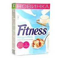 Хлопья Nestle Fitness йогурт, картонная упаковка, 245 гр