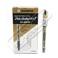 Ручка-роллер  Zeb-Roller AX-7 EX-JB8-BK (0,7) черный  Zebra